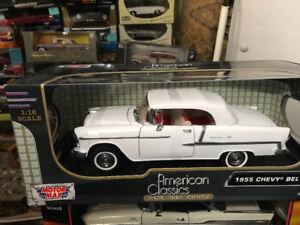 Chevrolet bel air 1955 neuf diecast 1/18 Die cast