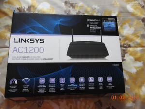 Linksys EA6100 AC1200 Dual Band Smart Wi-Fi Router