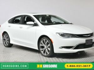 2016 Chrysler 200 C AC CRUISE BLUETOOTH CAM DE RECUL SIEGES ET V