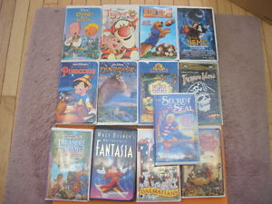 (59) CHILDRENS AND OTHER VHS MOVIES SOME WALT DISNEY London Ontario image 2