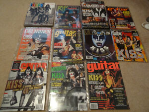 KISS Magazine and Book Collection