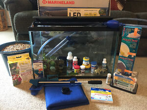 20 gallon fishtank with everything you need and more