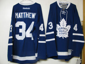 TORONTO MAPLE LEAFS OFFICIAL HOCKEY JERSEY MATTHEWS NWT+FREE NIK
