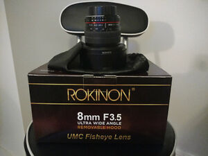 Rokinon 8mm F3.5 Fisheye Lens for Nikon