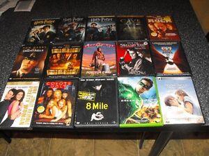 Plus de 700 DVD a vendre bandes sonores Francais/Anglais