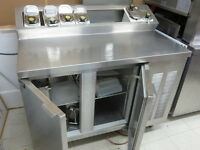 Stainless Steel Dairy Bar Including Table
