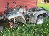 ATV's/dune buggy/dirtbike for parts/fixing