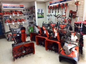 Huge Snowblower Inventory - Cub Cadet/Husqvarna - Sale on Now!