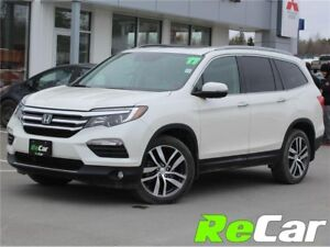2017 Honda Pilot Touring TOURING |7-SEATER | HEATED/COOLED LE...