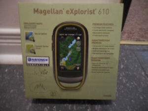 CAMPERS, HUNTERS, MAGELLAN 610, GPS, BRAND NEW, FOR SALE.