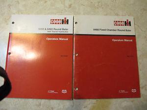 Case IH Baler Operator Manuals 8420,8430,8545,8555,8455,8465 Regina Regina Area image 3