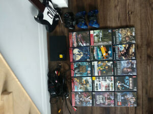 Play Station 2 with 15 games including Kingdom Hearts with manua