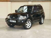 2006 MITSUBISHI SHOGUN SWB 3.2 DID AUTO - VAN - BLACK - SIMILAR TO LAND ROVER