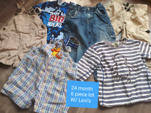 Boys size 24 month clothes (in lots)
