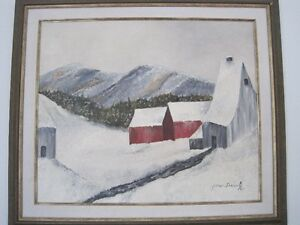 Tableau peintre Saguenay Saguenay-Lac-Saint-Jean image 6