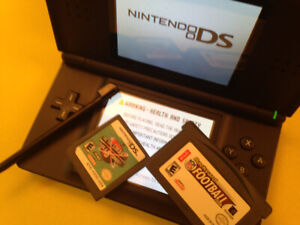 Nintendo DS lite .Black. Touch screen ..