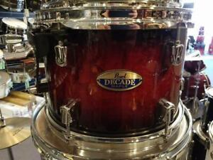 Pearl Decade Maple Shell kit 8-10-12-14f-16f-22 - usagé-used