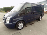 FORD TRANSIT 2.2 FWD 125 BHP LIMITED SWB LOW ROOF 2013 63 IN BLUE