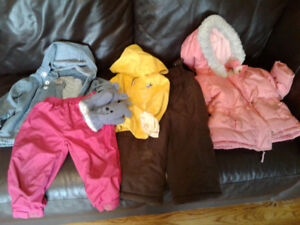 Girls 18 month outerwear $10