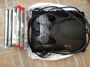 Ps3  super slim 500gb one controller pluse games