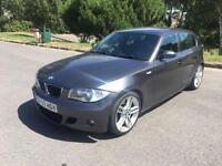 2007 57 BMW 1 SERIES 2.0 123D M SPORT 5D 202 BHP DIESEL