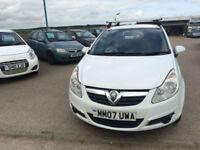 2007 07 Vauxhall Corsa Van 1.3CDTi Diesel 16v White NO VAT MOT AUG 2019.