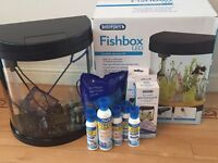 19 litre Fish Tank and Treatments - £50
