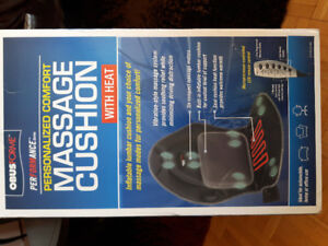 Obusforme Performance Series Massage Cushion with Heat
