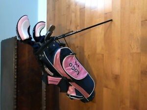 Kids Set of Golf Clubs with Matching Bag