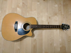 REDUCED!!! Takamine cutaway Dreadnought 1998