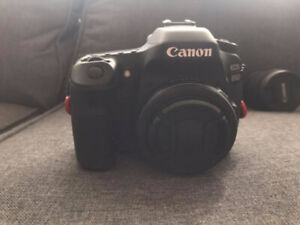 Almost-new Canon 80D and lenses