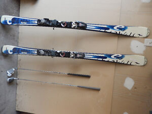Good Shape - pair of Skis and golf club/putter