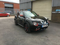 2014 NISSAN JUKE 1.2 DIG-T TEKNA XENON EXTERIOR PACK 115 BHP,ONLY 9000 MILES