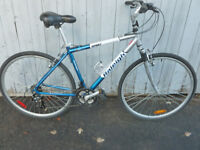 hybride Raleigh 21 vitesse aluminium roue 700 bonne condition