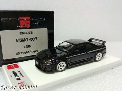 NISMO 400R 1996 Midnight Purple MAKE UP MODEL 1/43 #EM397B