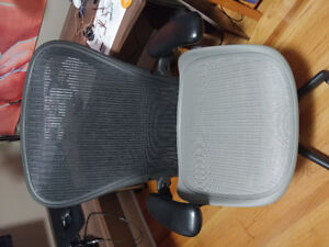 Herman Miller Areon office chair + spare seat pan and cylinder