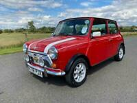 1992 Rover Mini Cooper 1.3 Saloon Manual Petrol in Red