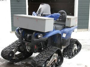 Yamaha 700 Grizzly 2013 with tracks-Campbellton N.B.