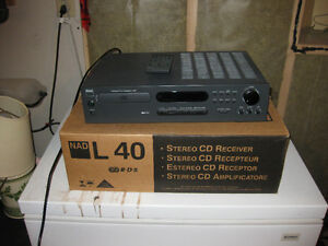 NAD Stereo Receiver with Built-in CD Player