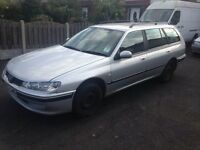 2002 Peugeot 406hdi estate 167k no mot hence first £200 takes