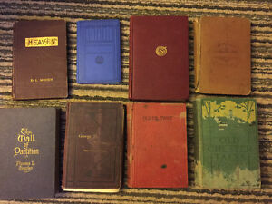 Group of OLD books