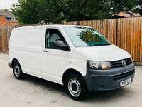 2011/61 VOLKSWAGEN TRANSPORTER T30 SWB 2.0 TDI 140 PS 6 SPEED-CANDY WHITE-VW T5!