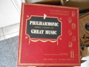 PHILHARMONIC RECORD LIBRARY