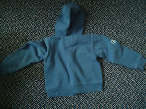 Boys Size 4 Full Zip Jogger Style Sweater Kingston Kingston Area image 3