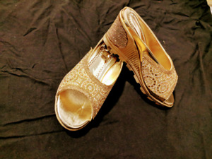 Suits, formal purse, golden glitter shoes, everything on 50-70%