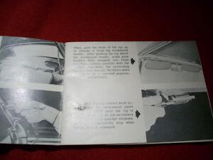 1955 GM convertible guide Peterborough Peterborough Area image 3
