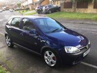 2003 Vauxhall Corsa 1.8 SRI-1 elderly couple-12 months mot-full history-fantastic value
