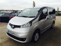 2010 NISSAN NV200 SE DCI 4 SEATER CAMPERVAN, NOT VW, BONGO,