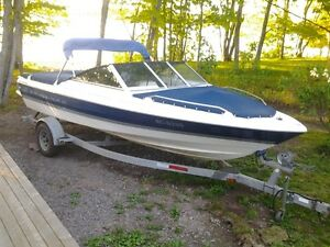 Used 1998 Bayliner Bayliner Bowrider Capri with Trailer