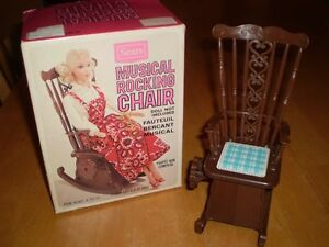 VINTAGE MUSICAL ROCKING CHAIR Windsor Region Ontario image 1